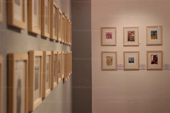 نمایشگاه آثارهفتمین سالانه تبادل چاپ دستی