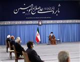جلسه شورایعالی هماهنگی اقتصادی با رهبر معظم انقلاب اسلامی