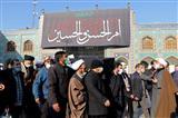مراسم تشییع پیکر آیت الله مصباح یزدی در شهر ری