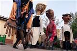 کاروان عروسک های غول پیکر نوروز ۱۴۰۰