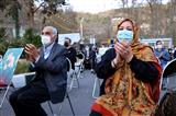 جشن میلاد امام زمان در میدان درکه تهران