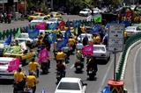 حرکت کاروان خودرویی و موتوری راهیان غدیر در خیابان های پایت