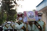 مراسم تشییع پیکر سرباز شهید عبدالجبار مختوم نژاد