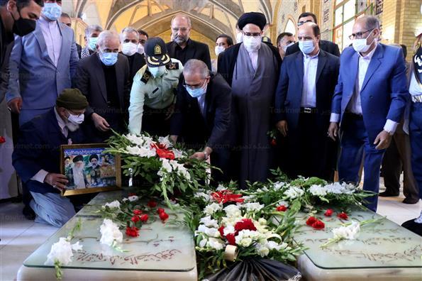 مراسم بزرگداشت چهلمین سالگرد شهیدان رجایی و باهنر