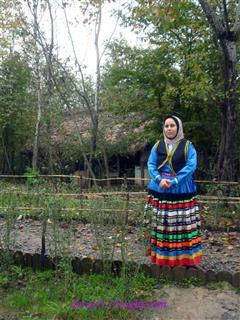 قربان صحرائی چالهسرائی, لباس محلی قاسمآبادی