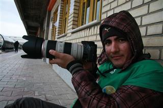 محمدتقیانی, محمدتقیانی-عکاس سختی ها
