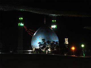 قربان صحرائی چالهسرائی, مسجد مقدس جمکران