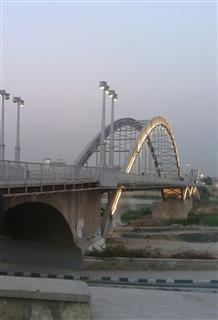زهرا رخ, پل سفید اهواز