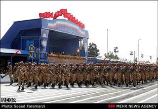 نسیم نجف, رژه روز ارتش در تهران