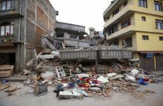 بهروز خانی ملا حاجلو, زلزله در نپال