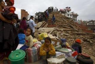 بهروز خانی ملا حاجلو, زلزله در نپال.