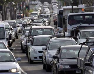 فاطمه معصومی, ترافیک تهران در حالت بحران