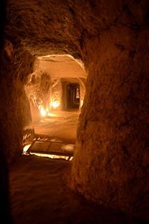 مسعود نسیانی, شهر زیرزمینی نوش اباد